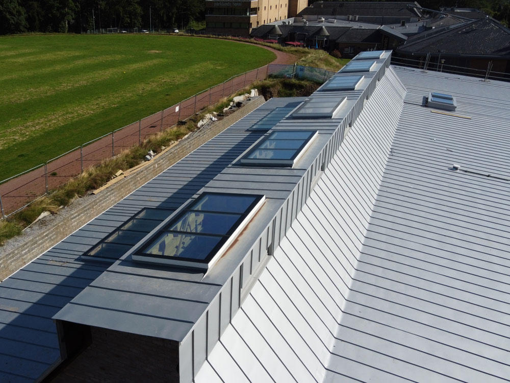 Crookfur Early Years Centre - PREFA Aluminium Roofing Glasgow