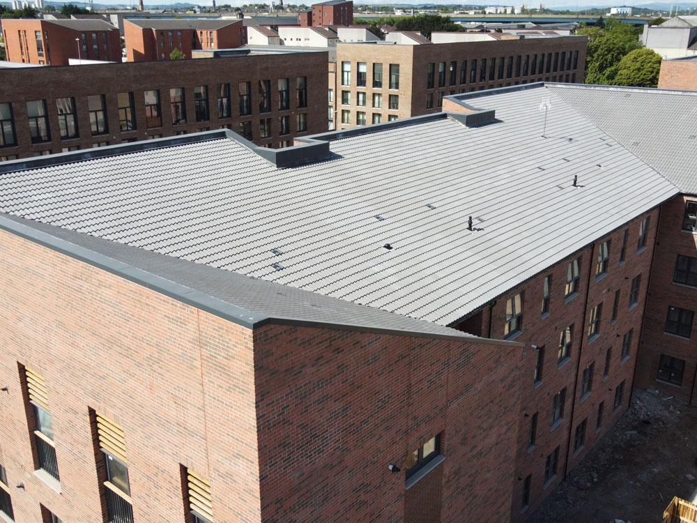 Lauriston - PREFA Aluminium Roofing Glasgow