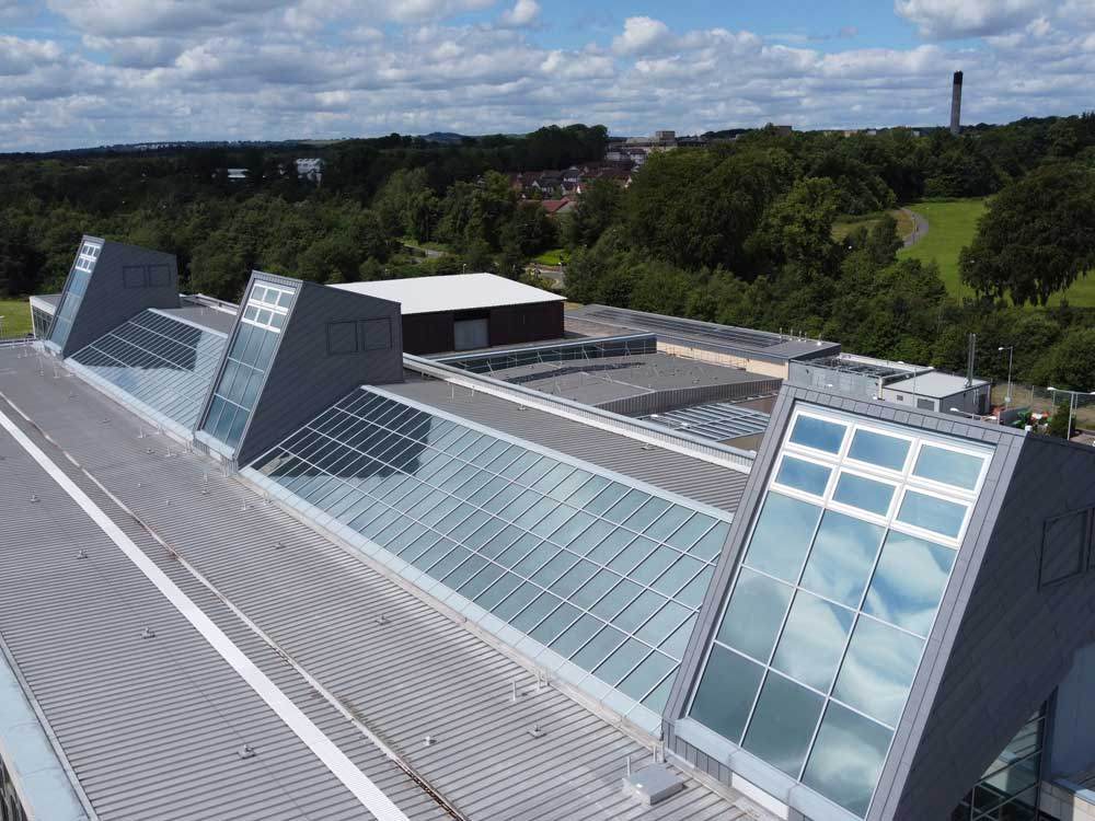 Livingston WLC - QUARTZ-ZINC VMZINC Roofing Glasgow