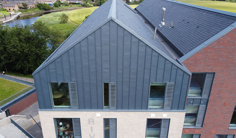PIGMENTO by VMZINC Roofing Scotland